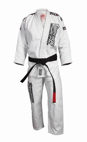 Gameness Platinum White Gi